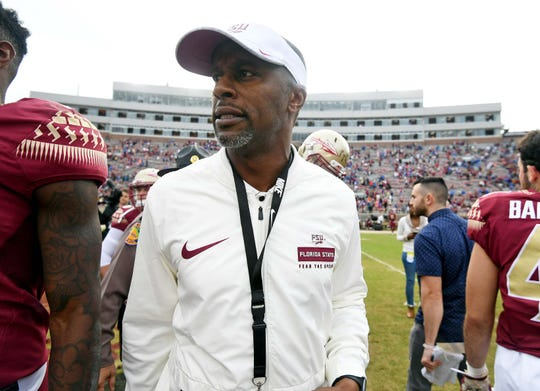 A picture posted on social media showed a lynching of Florida State head coach Willie Taggart.