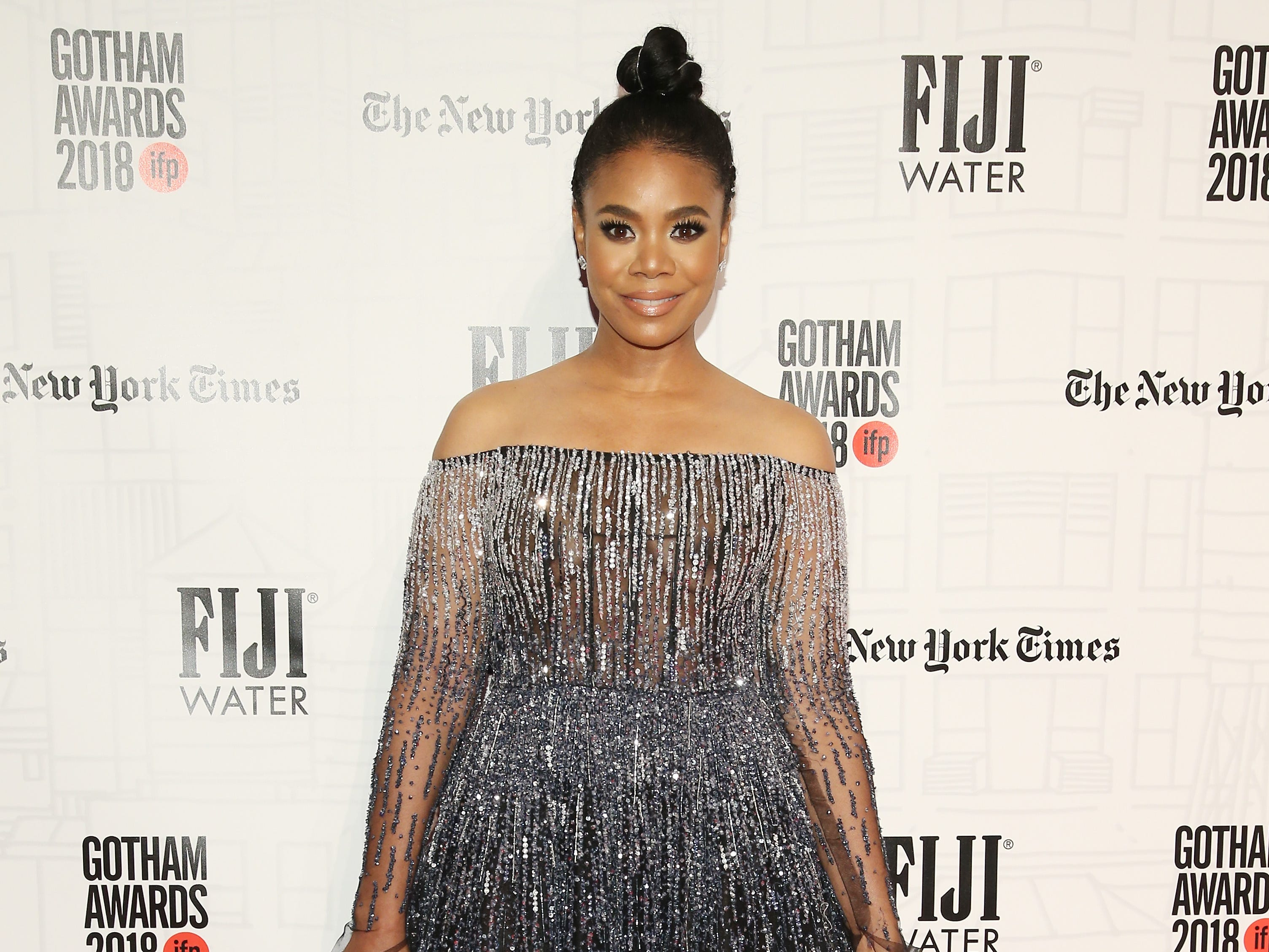 NEW YORK, NY - NOVEMBER 26: Regina Hall attends IFP's 27th Annual Gotham Independent Film Awards at Cipriani, Wall Street on November 26, 2018 in New York City.  (Photo by Jemal Countess/Getty Images for IFP) ORG XMIT: 775261541 ORIG FILE ID: 1065562508