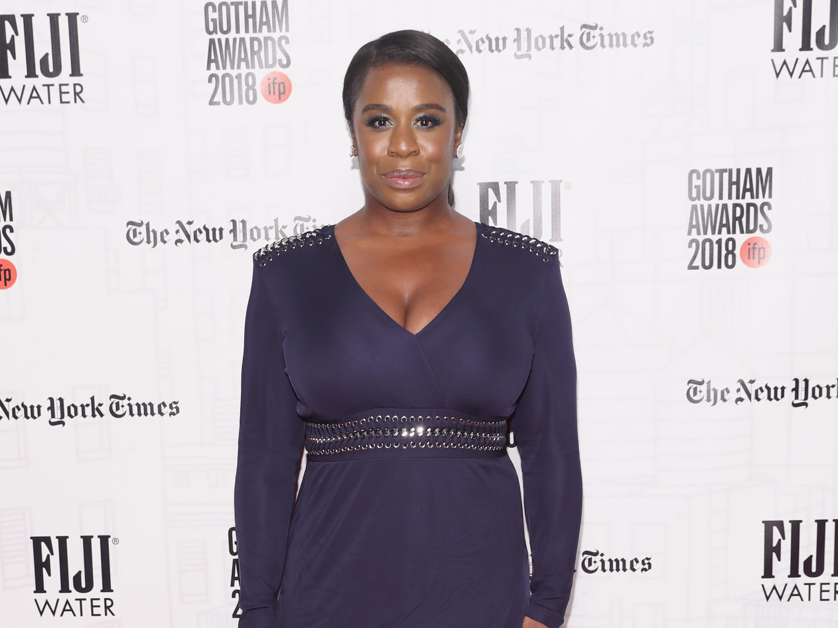 NEW YORK, NY - NOVEMBER 26:  Uzo Aduba attends the 2018 IFP Gotham Awards with FIJI Water at Cipriani, Wall Street on November 26, 2018 in New York City.  (Photo by Cindy Ord/Getty Images for FIJI Water) ORG XMIT: 775261572 ORIG FILE ID: 1065562754