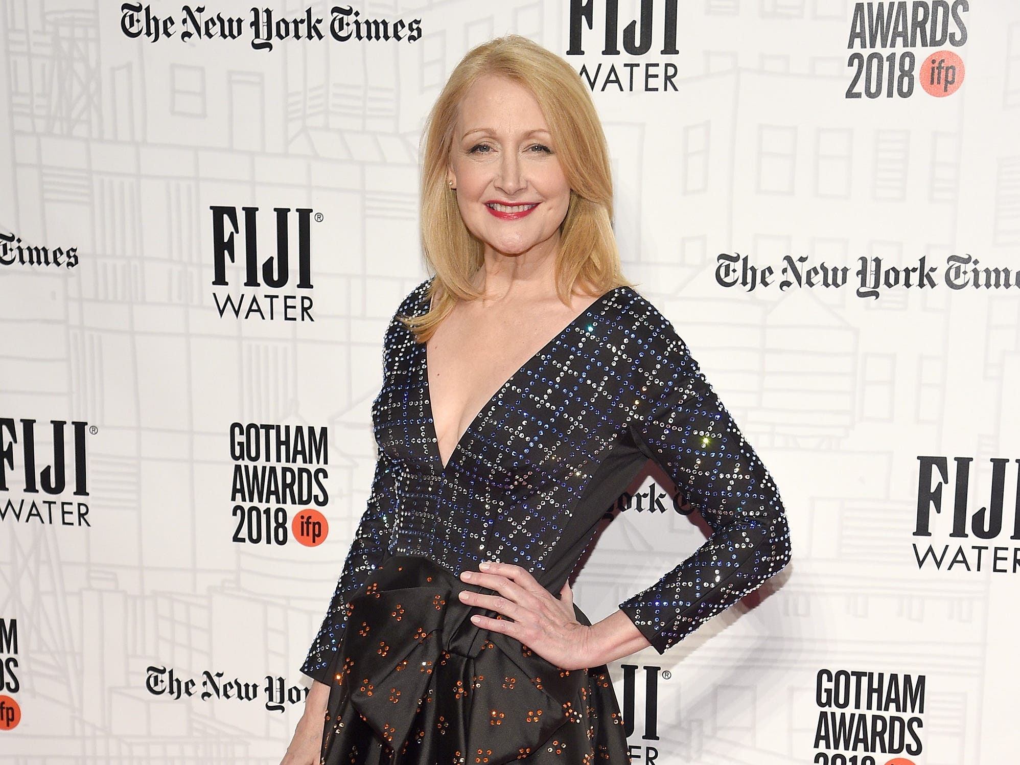 NEW YORK, NY - NOVEMBER 26: Patricia Clarkson attends IFP's 27th Annual Gotham Independent Film Awards at Cipriani, Wall Street on November 26, 2018 in New York City.  (Photo by Dimitrios Kambouris/Getty Images for IFP) ORG XMIT: 775261541 ORIG FILE ID: 1065562658