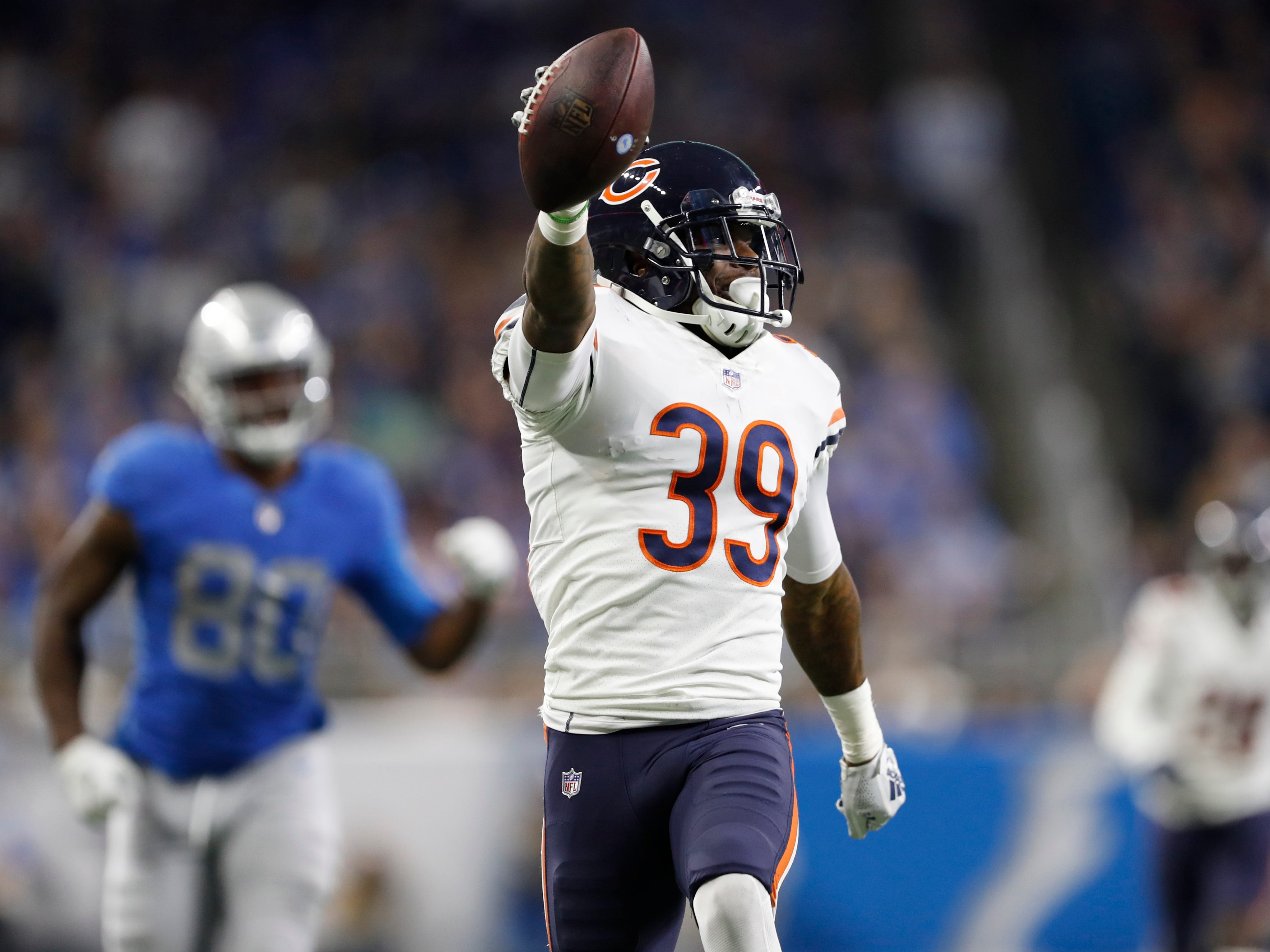 8. Bears (7): S Eddie Jackson has five TDs since the start of the 2017 season. Atlanta's Julio Jones has six TDs since the start of the 2017 season.