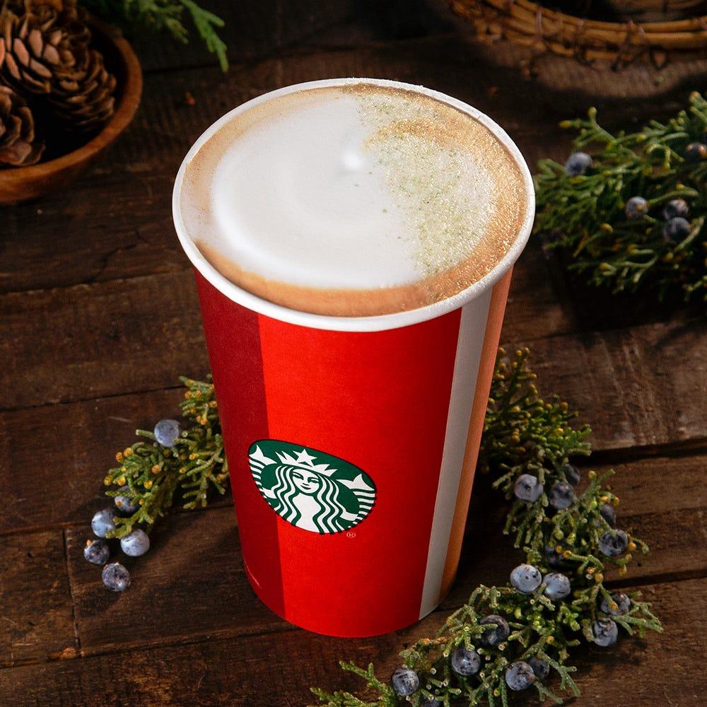 Starbucks announces new contest and new seasonal drink, the Juniper Latte