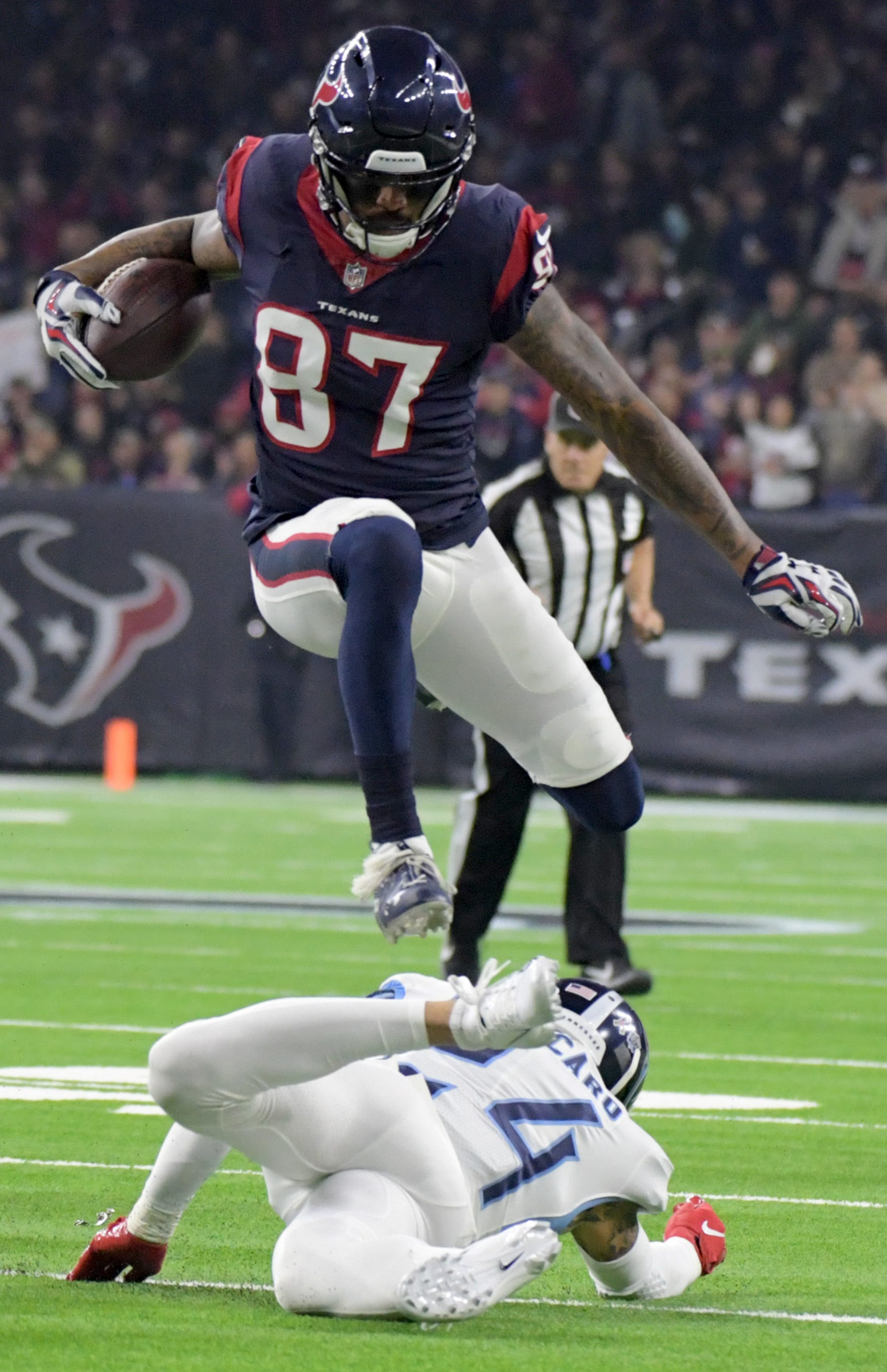 Nfl Tennessee Titans At Houston Texans
