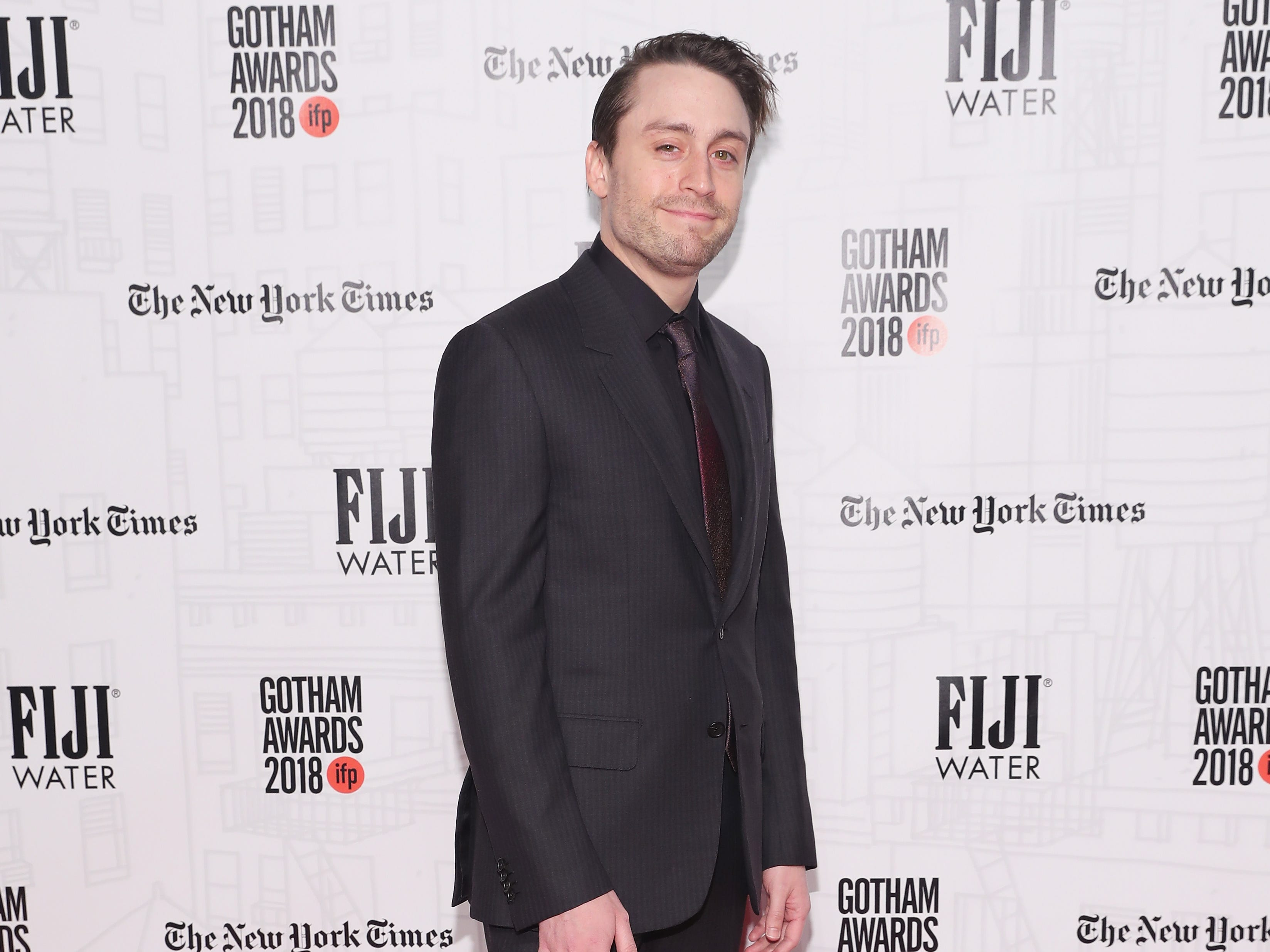NEW YORK, NY - NOVEMBER 26:  Kieran Culkin attends the 2018 IFP Gotham Awards with FIJI Water at Cipriani, Wall Street on November 26, 2018 in New York City.  (Photo by Cindy Ord/Getty Images for FIJI Water) ORG XMIT: 775261572 ORIG FILE ID: 1065546982
