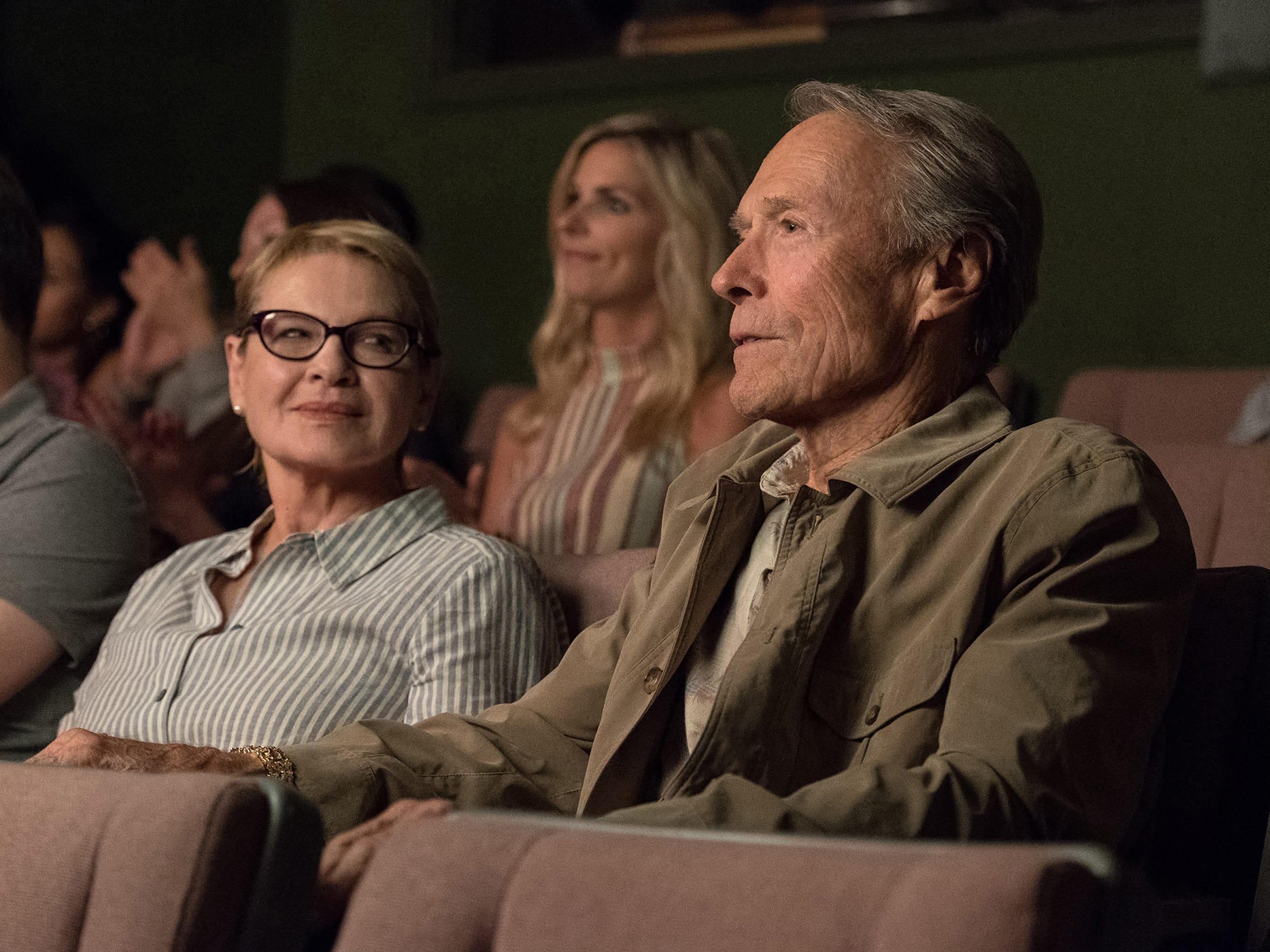 """Dianne Wiest co-stars as ex-wife Mary to Clint Eastwood's drug-running Earl in """"The Mule."""""""