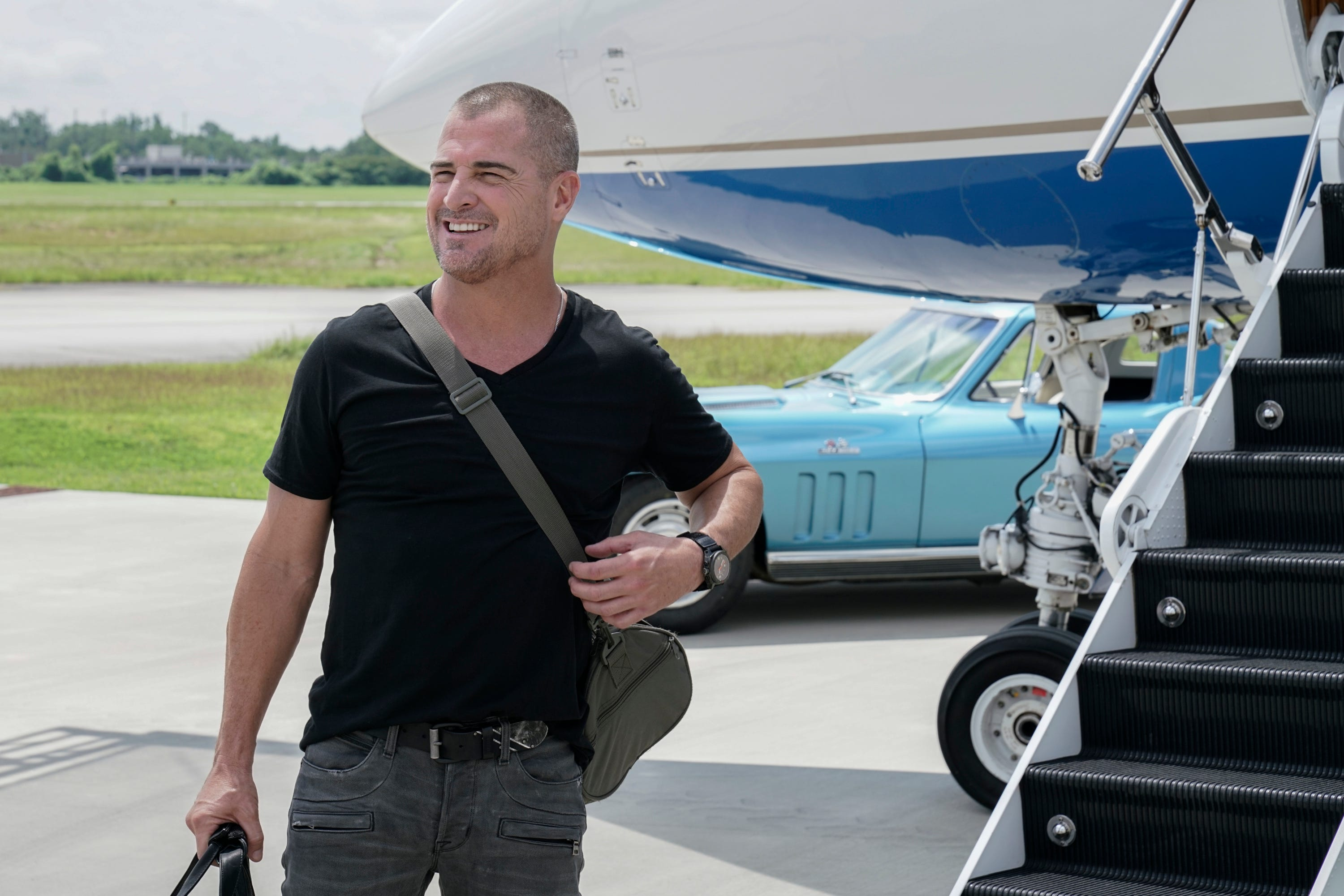 why is george eads leaving macgyver