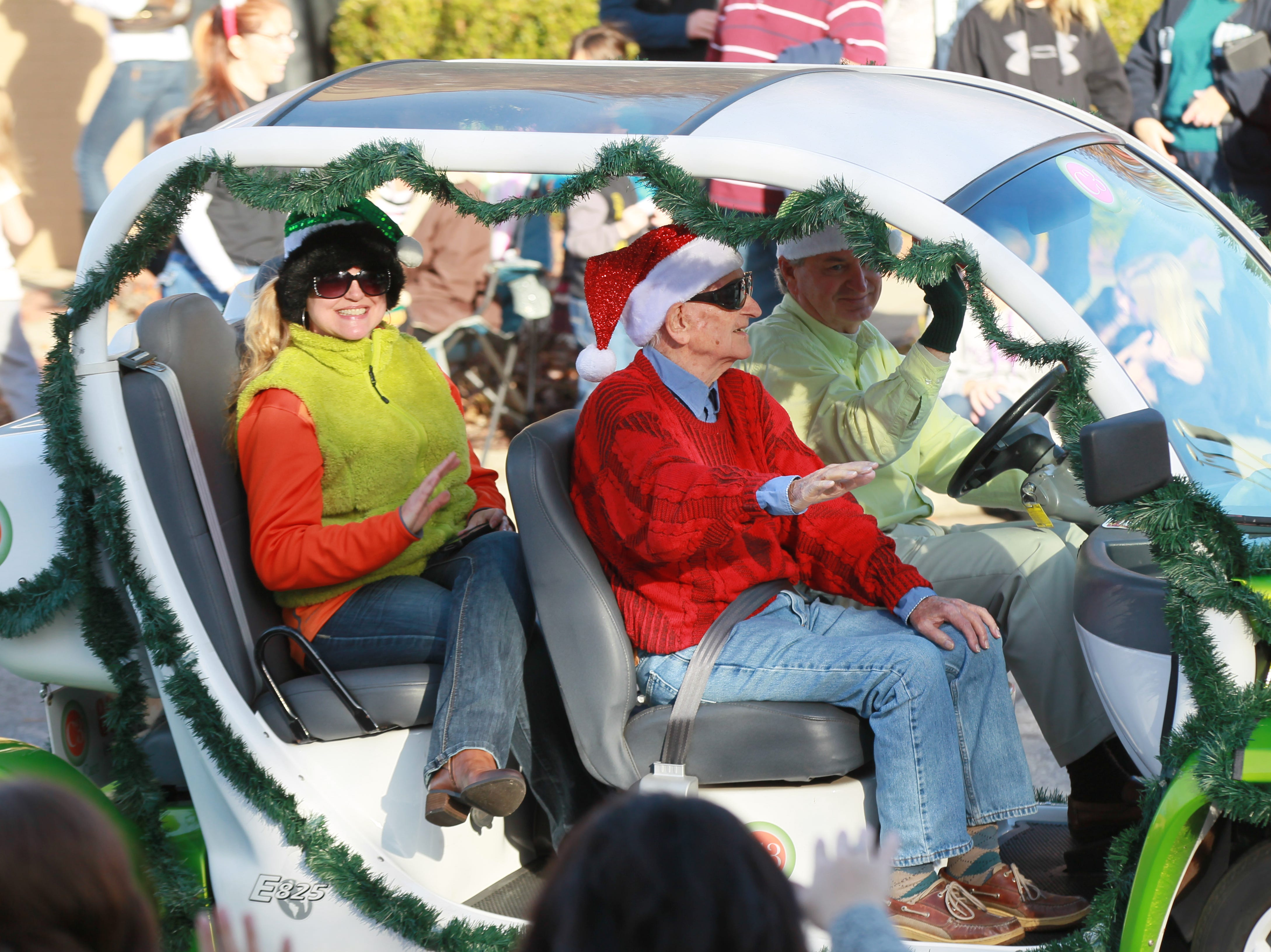 Anderson Christmas Parade in 2002.