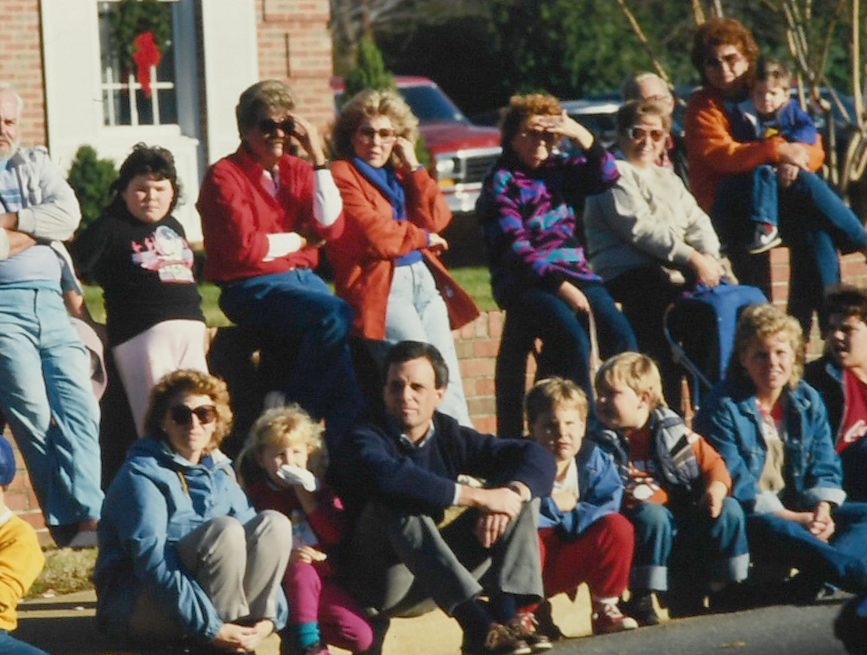 Anderson Christmas parade in December 1987 in downtown Anderson. (Patrick Wright photos)