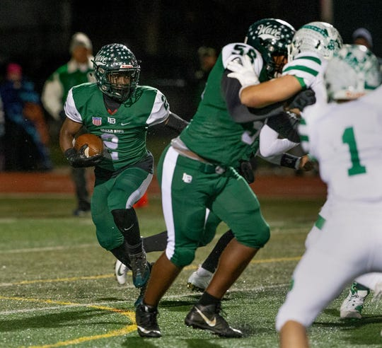 Junior running back Jermaine Corbett has been one of Long Branch's key players all season.