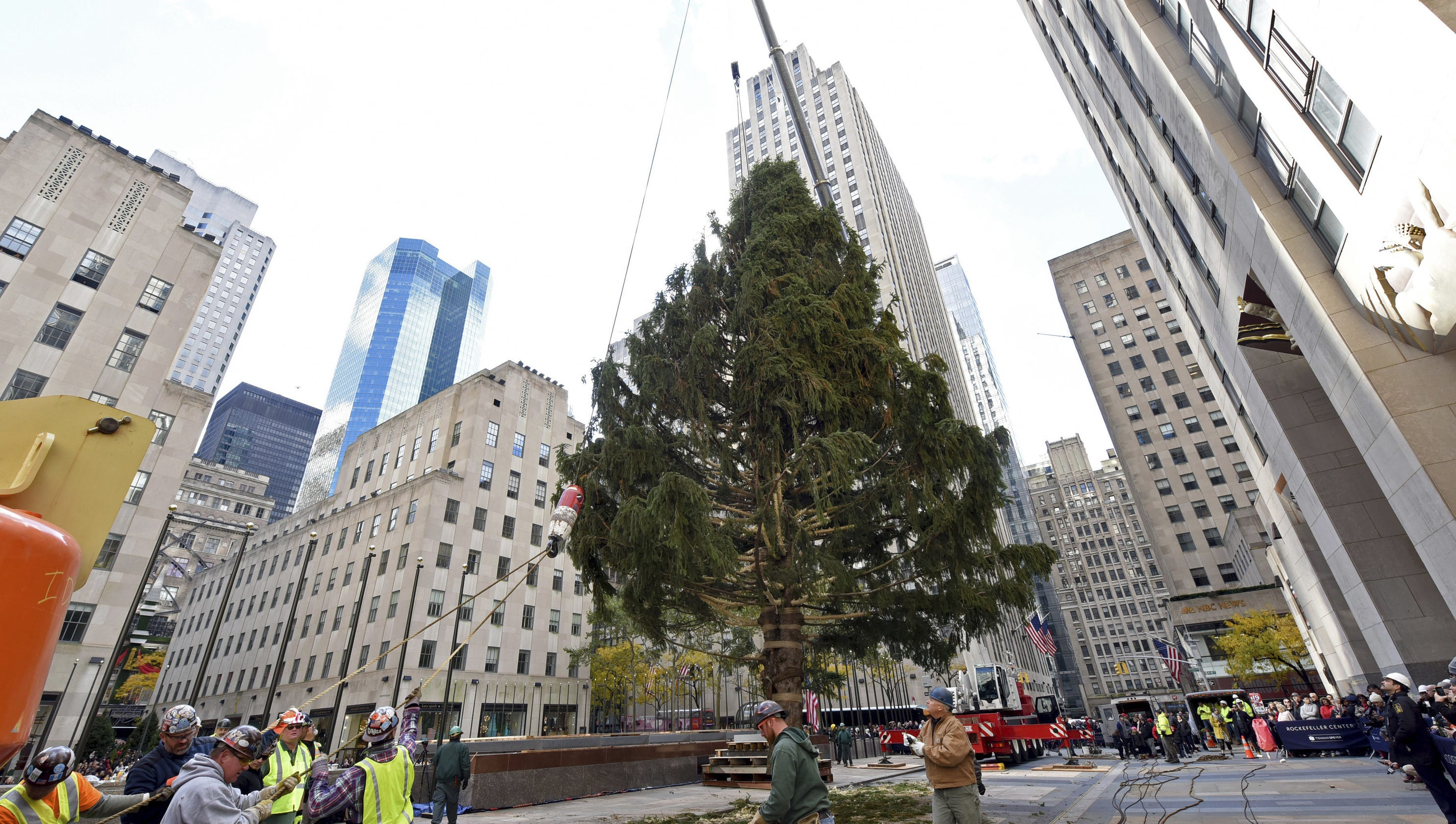Rockefeller Center Christmas Tree Lighting 2018