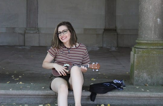 Monmouth University student and Blue Hawk Records artist Megan Chase.