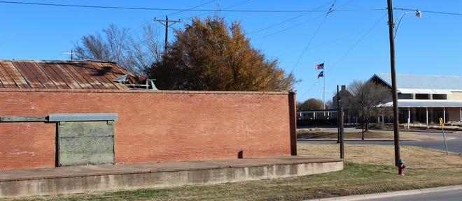 The Cotton Warehouse is located north of Frontier Texas! and takes up a full city block in downtown Abilene.