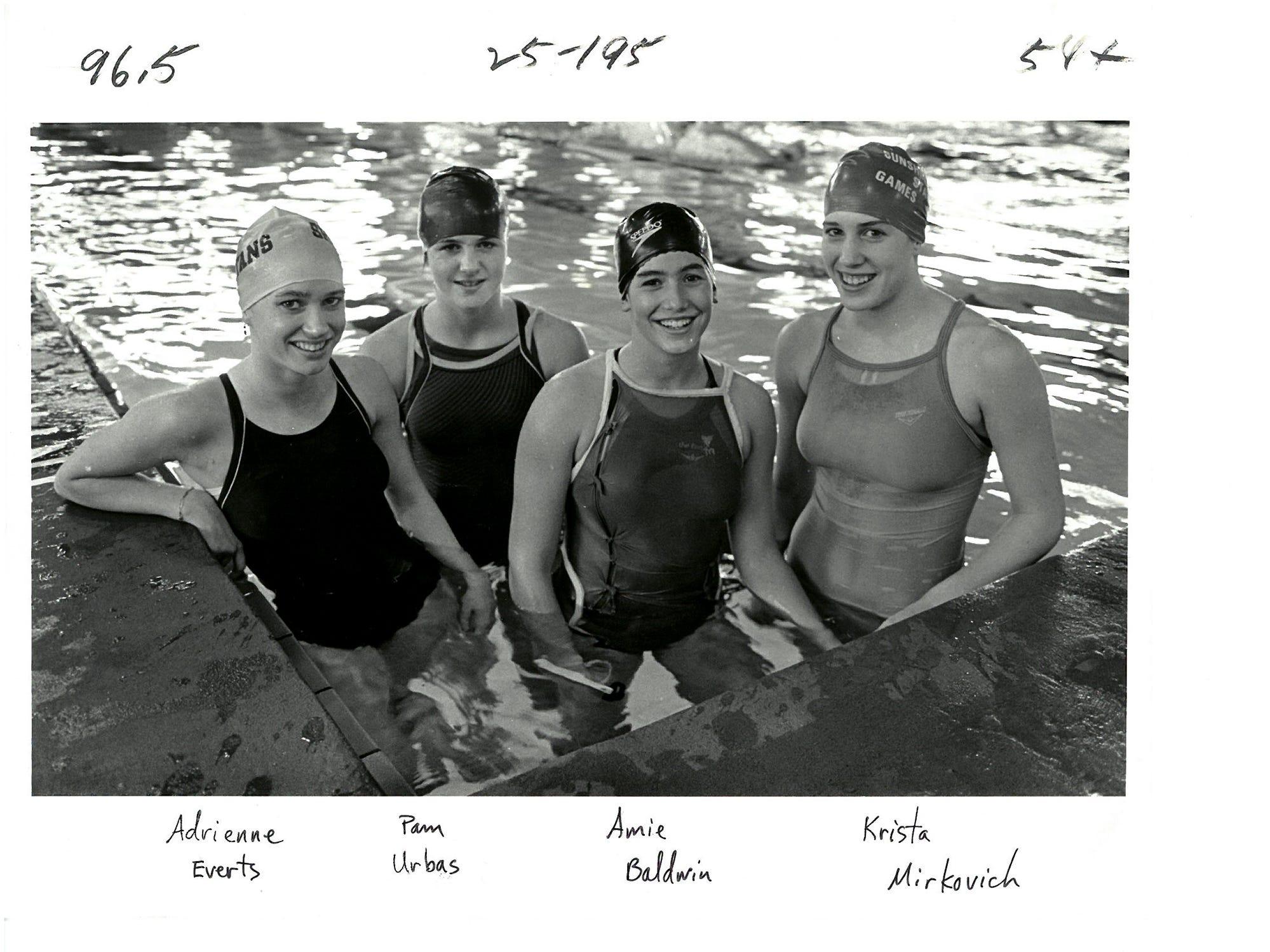 11/17/87Sports Swimmers Print