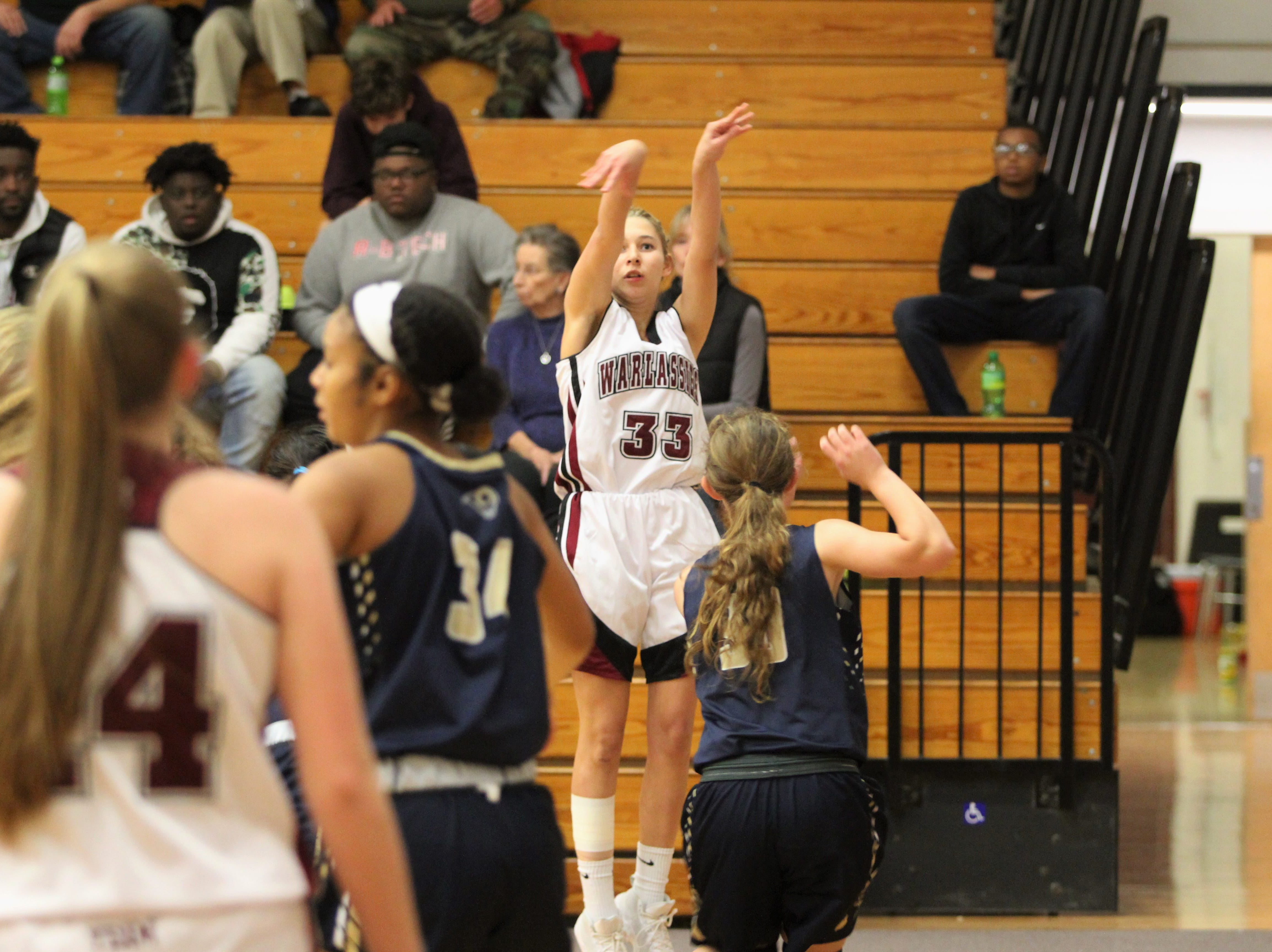 The Owen Warlassies opened the 2018-19 season at home with a 55-45 loss to T.C. Roberson on Nov. 27. Senior Chesney Gardner led the way for Owen with 25 points and 13 rebounds.