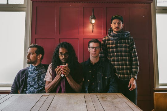 Darlingside, who performed in September at the Grand Point North festival in Burlington, play Friday, Dec. 7 at Higher Ground.