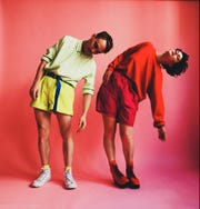 Rubblebucket, featuring University of Vermont alumni Alex Toth and Kalmia Traver, perform Dec. 8 at Higher Ground.