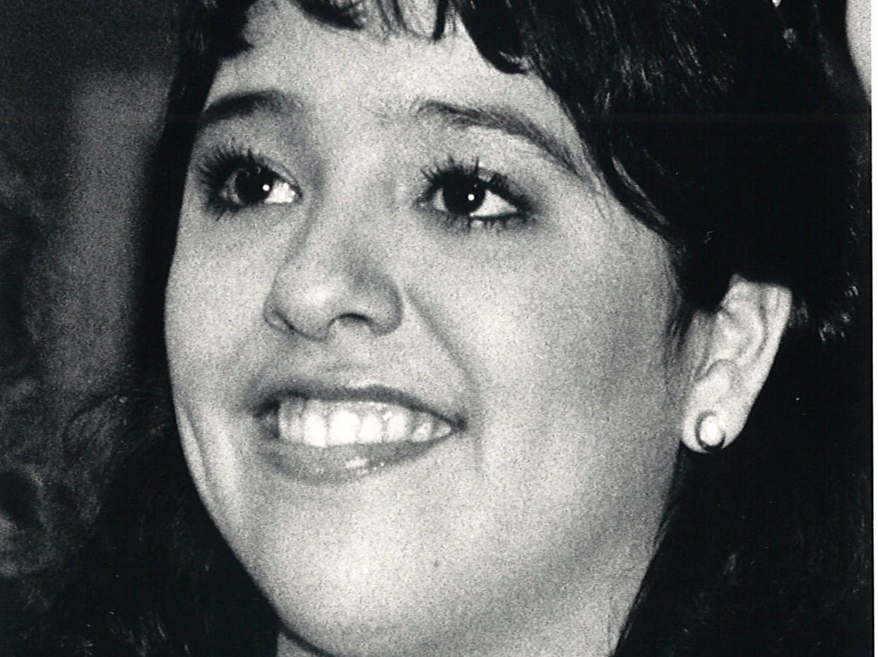 Tracy Benevidez (cq)was crowned Miss Menudo Queen 1986 at the Menudo Bowl in Corpus Chrisit on Jan. 24, 1986.