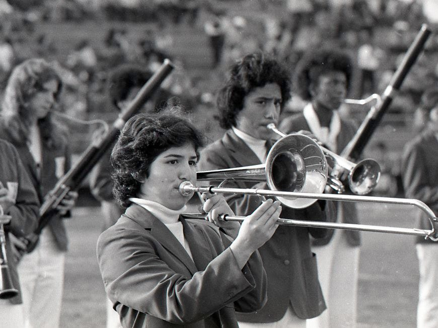 The Jan. 9, 1978 Menudo Bowl had everything from football to band performances, a crowning of the Menudo Bowl queen, and of course, bowls of menudo.
