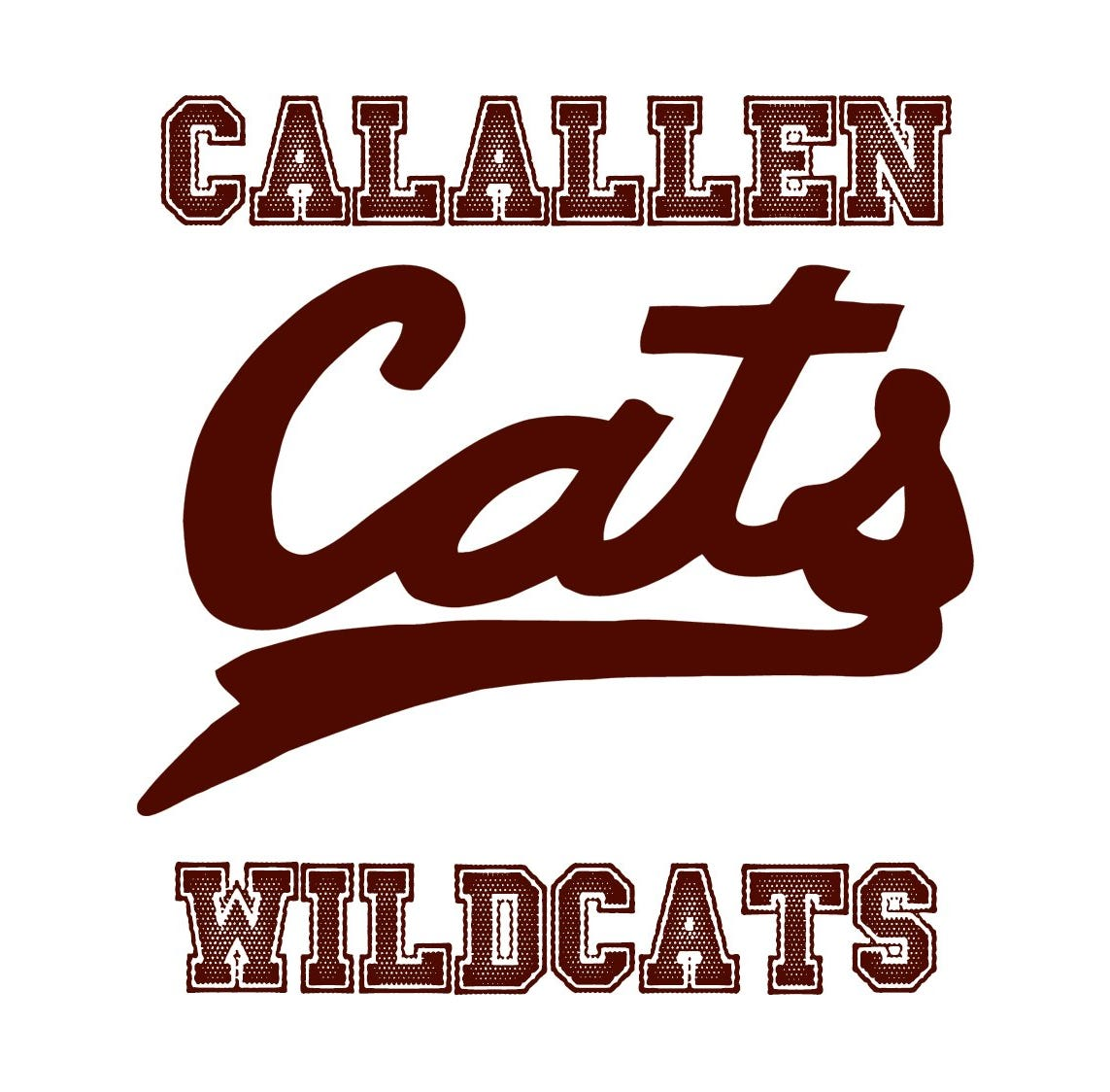 How do we show that the cheerleaders' vulgar video isn't who Calallen is?