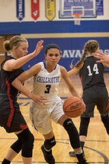 Chillicothe High School's girls basketball team defeated Logan 44-40 on Wednesday as Makenize Greene scored 21 points for the Cavs.
