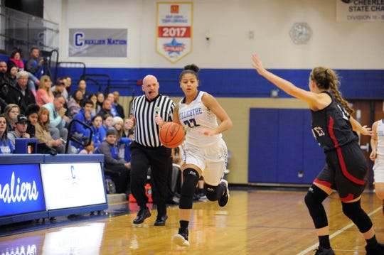 Chillicothe defeated Hillsboro in a Division II Sectional Semifinal 52-31 on Monday as Shawnice Smith scored 16 points.