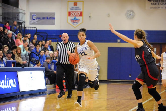 Shawnice Smith scored 12 points in Chillicothe's 44-31 win over Ironton on Thursday.