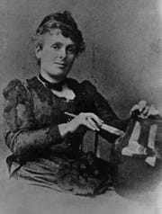 Maria Longworth Nichols Storer founded the Rookwood Pottery Co. in 1880.