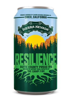 Resilience Butte County Proud IPA is brewed for the benefit of people affected by the California Camp Fire. Local breweries are also making the beer