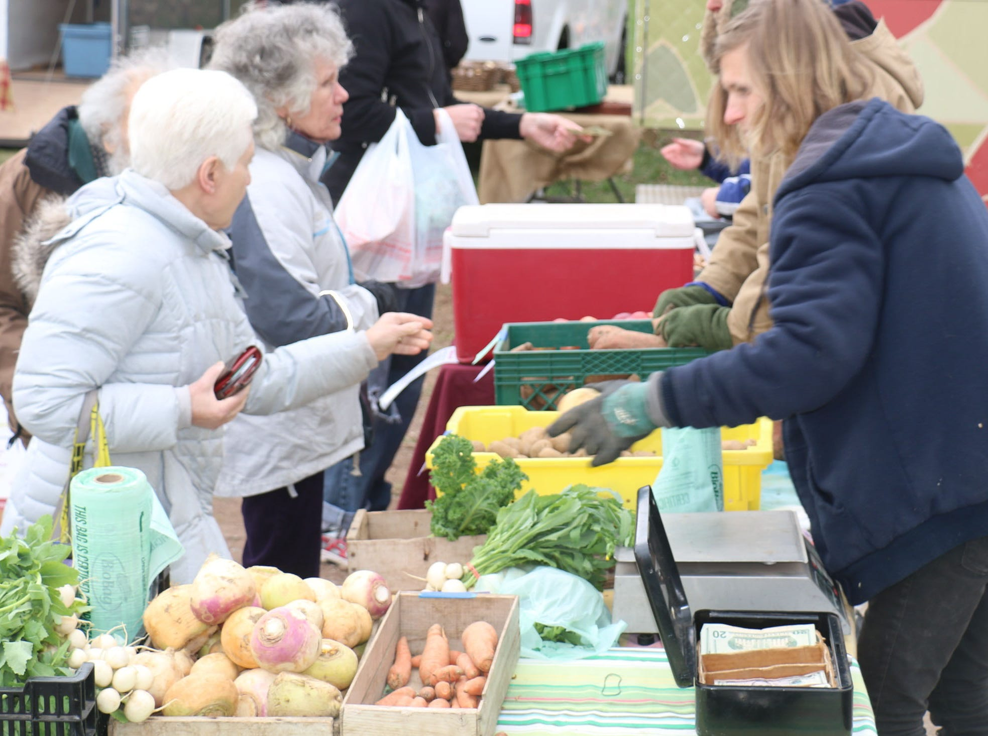 The Hunterdon Land Trust's winter Farmers' Market kicks off its sixth season on Sunday, Dec. 2, from 11 a.m. to 1 p.m. in the Dvoor Farm wagon house, 111 Mine St. in Flemington.