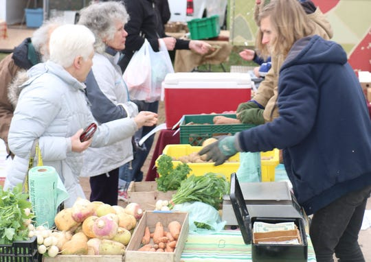 The Hunterdon Land Trust's winter Farmers' Market kicks off its sixth season on Sunday, Dec. 2, from 11 a.m. to 1 p.m. in the Dvoor Farm wagon house, 111 Mine St. in Flemington.