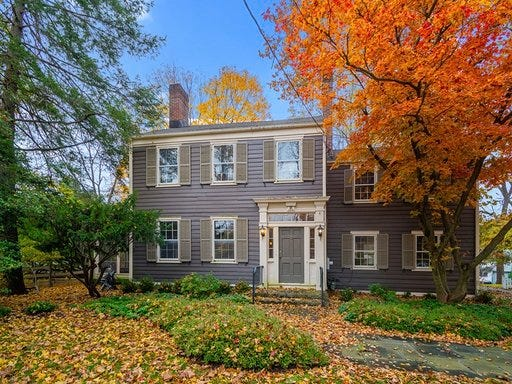 Now fully restored, the Murphy-Voorhees home at 60 Princeton Ave. in the historic District of Rocky Hill is now available for $795,900.