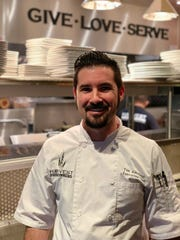 Executive Chef Tim Amoroso of Newtown's Harvest Seasonal Grill & Wine Bar.