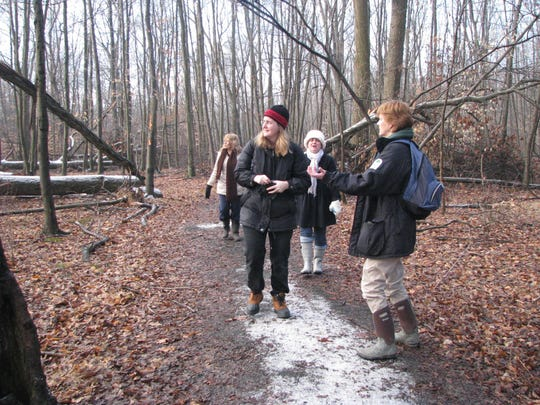 Naturalist-led Forest Fitness Walks take place fall, winter, and spring at the Environmental Education Center, 190 Lord Stirling Road in the Basking Ridge section of Bernards.