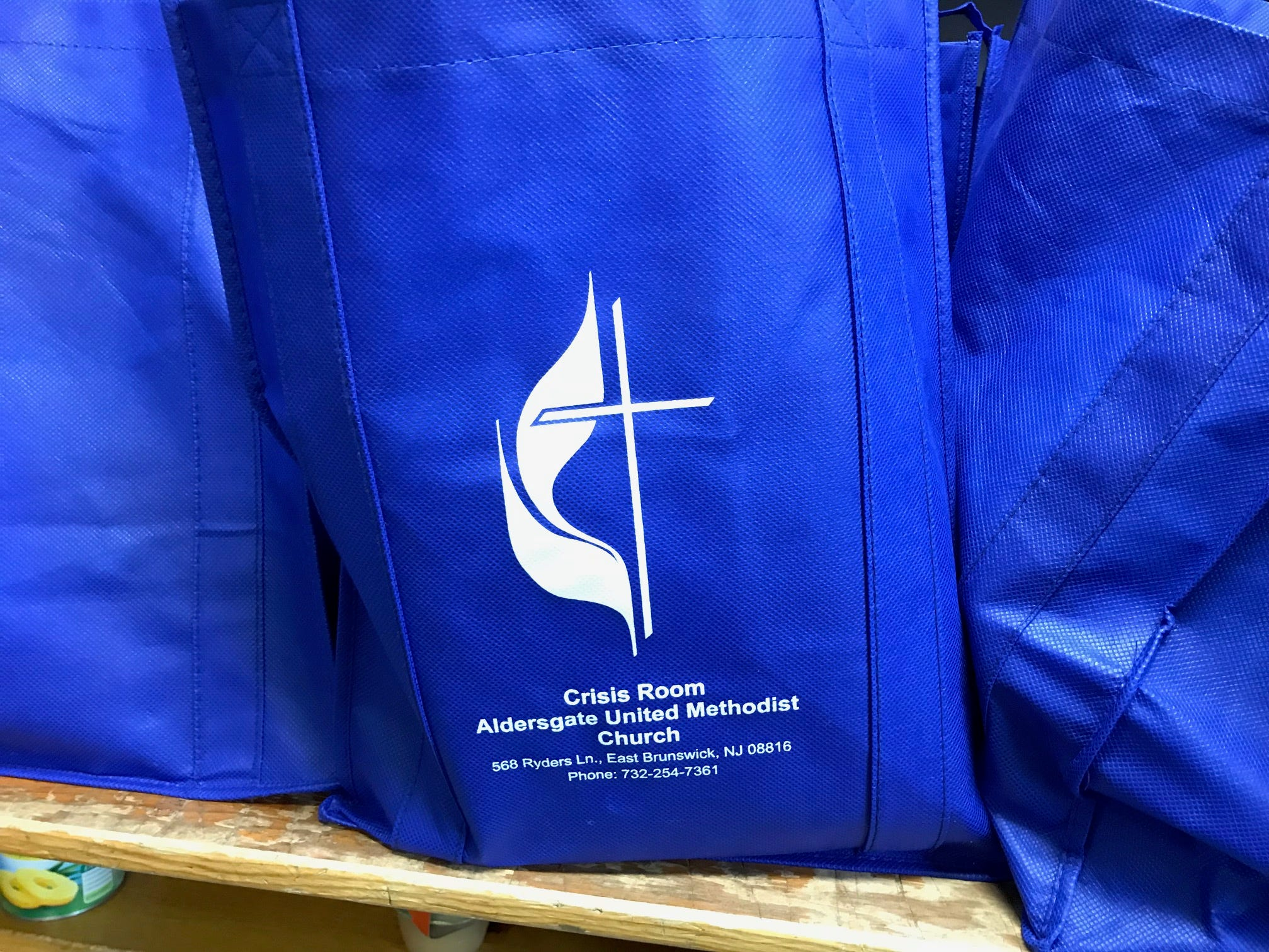 The Crisis Room at Aldersgate United Methodist Church in East Brunswick helps those in need year-round.