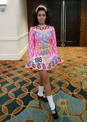 Caleigh Allen, a SCVTHS sophomore, who recently advanced to the Irish Step Dancing World Championships.