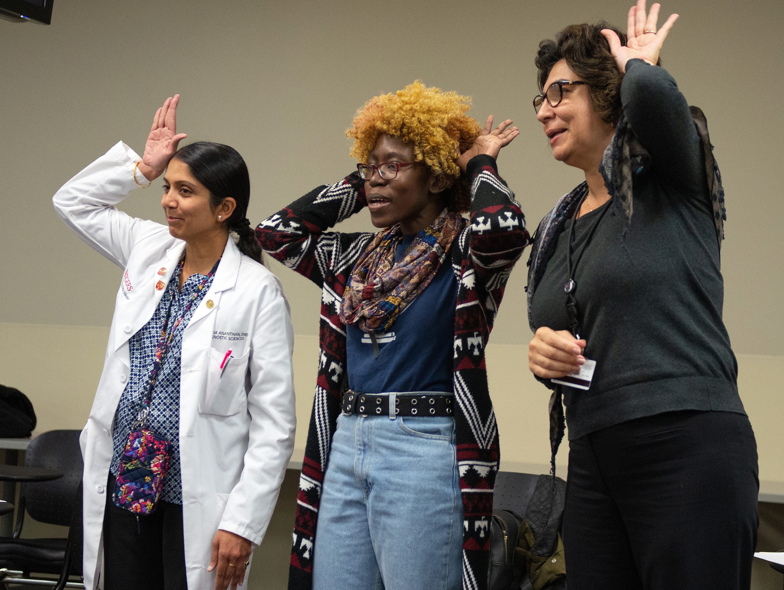Rutgers Medical Researchers use Improv to Improve Communication Skills