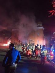Fire heavily damages St. Mary's Ukrainian Catholic Church in Carteret