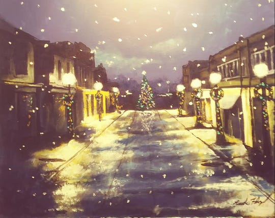 """A sample of the original artwork by local artists that will be available for purchase at the """"Holiday Art Crawl"""" beginning at the Gallery on Division, 15B Division St. in Somerville from 1 to 6 p.m. on Saturday, Dec. 1, and Sunday, Dec. 2,"""