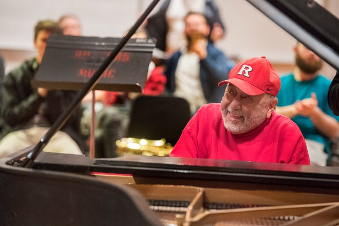 Grammy winning musician, Eddie Palmieri, teaches master class at Rutgers University–New Brunswick's Mason Gross School of the Arts