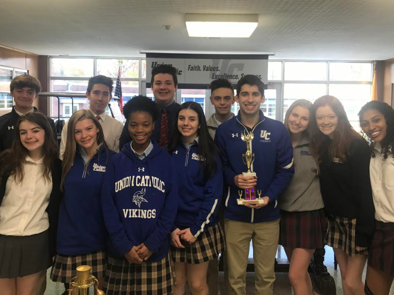UC's Forensics team turns in several  great performances to place third at Ridge
