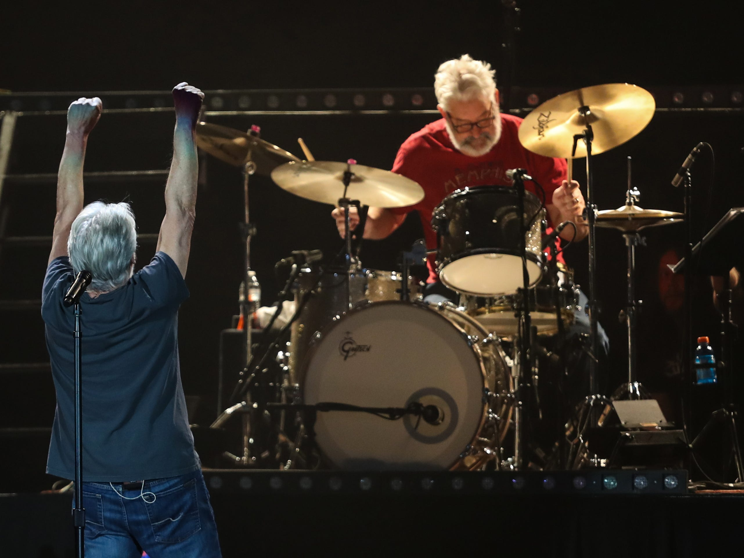 Bob Seger and the Silver Bullet Band play Wells Fargo Arena in Des Moines, Iowa on Nov. 27, 2018.
