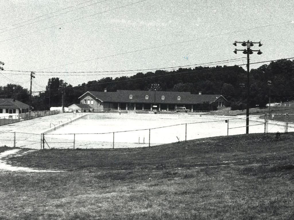 The Camp Dodge pool shown in 1980.