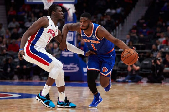 New York Knicks point guard Emmanuel Mudiay has played well since being inserted into the starting lineup.