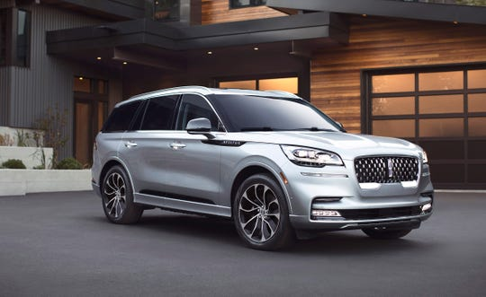 "The 2020 Lincoln Aviator is priced at about $50,000. ""The sleek three-row SUV is vital to Lincoln's plan to return to relevance in the U.S. and Chinese markets,"" wrote Detroit Free Press auto critic Mark Phelan. ""It rides on a brand new architecture and will be built alongside the next-generation Ford Explorer in Chicago."""