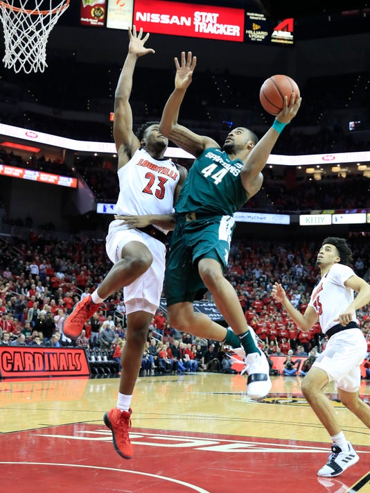 Michigan State V Louisville