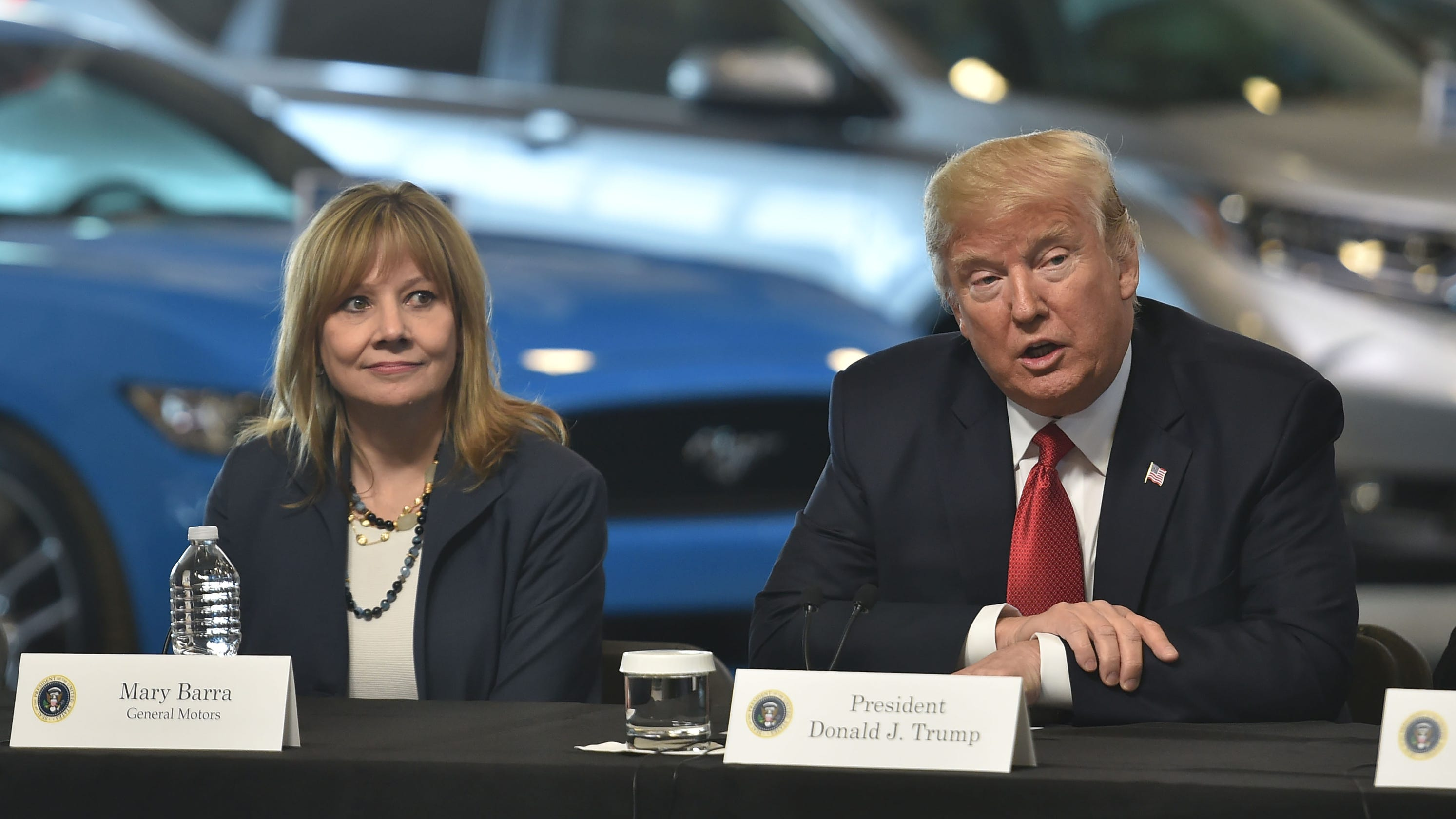 Auto One Arlington Tx >> GM, Mary Barra don't care if Trump and others are angry