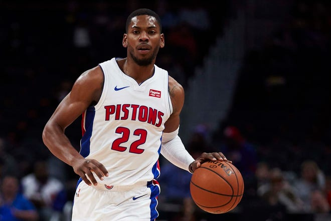 Detroit Pistons guard Glenn Robinson III.