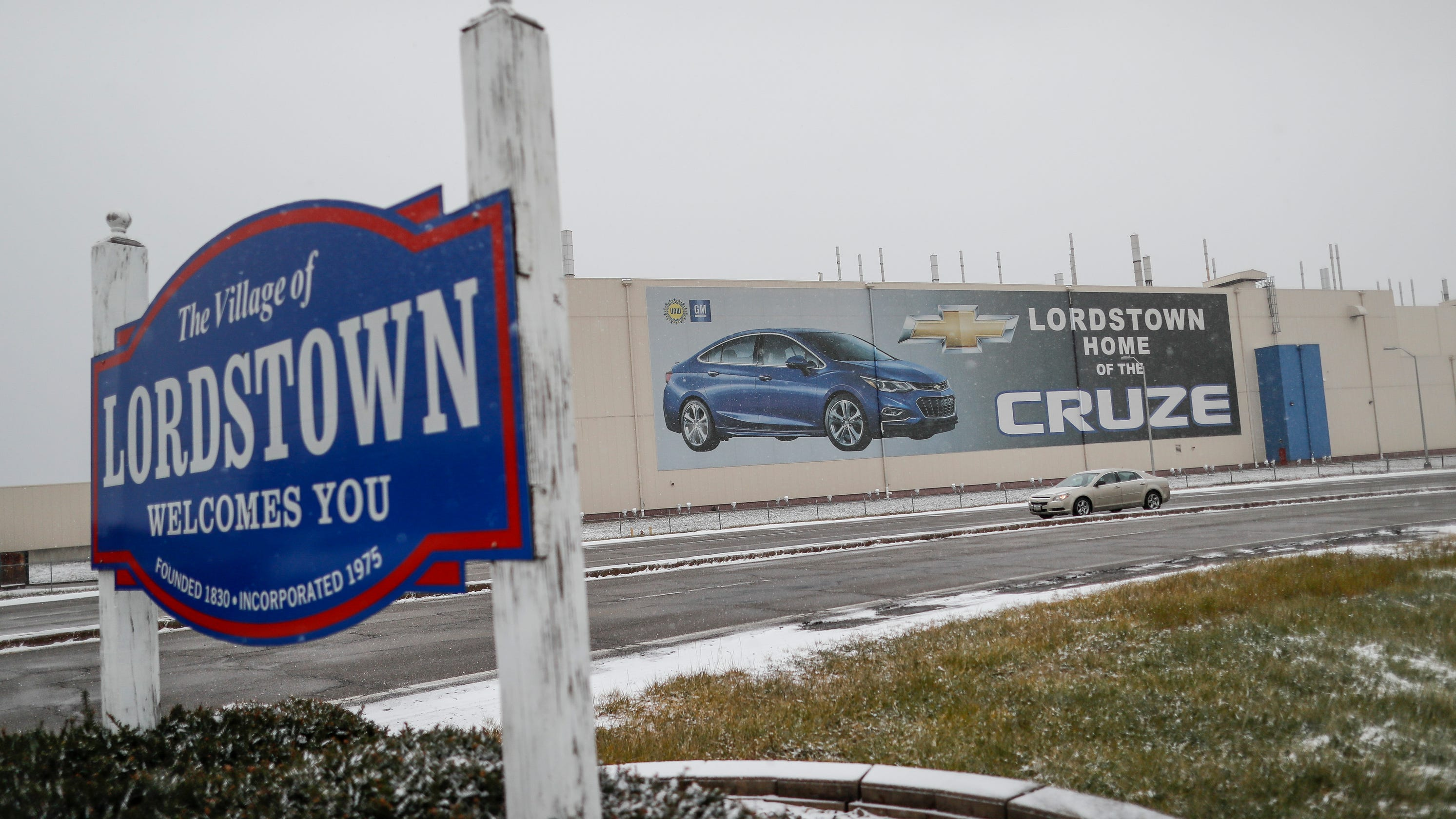Why didn't Ohio stop General Motors from leaving Lordstown?