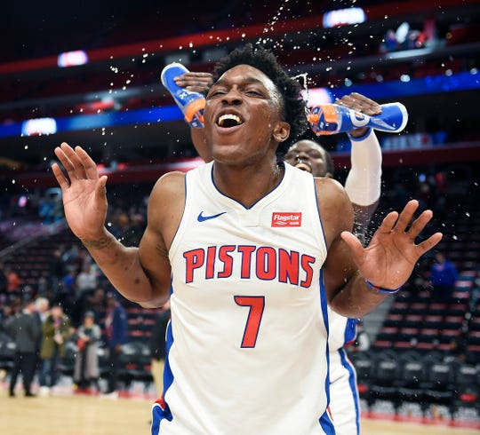 Stanley Johnson has emerged as a super sub for the Pistons.