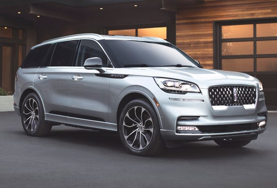 The all-new 2020 Lincoln Aviator.